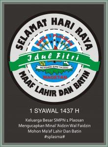 splasma 1 syawal 1437