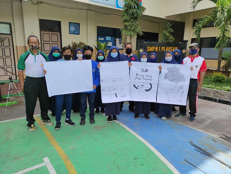 Sekolah SMPN 1 Plaosan Menuju Sekolah Adiwiyata