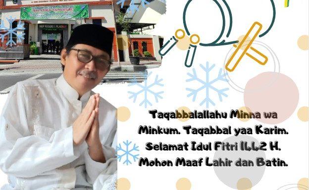 SMPN 1 Plaosan Mengucapkan Selamat Hari Raya Idul Fitri 1442 H